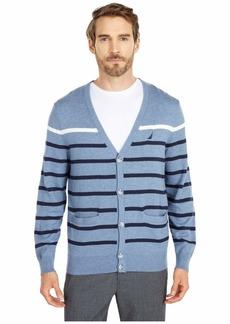 Nautica Striped Cardigan Sweater