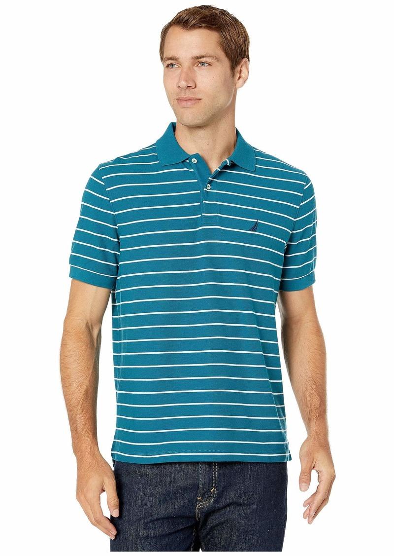 Nautica Striped Deck Polo Shirt