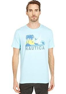 Nautica Tee Palm Tree Sun