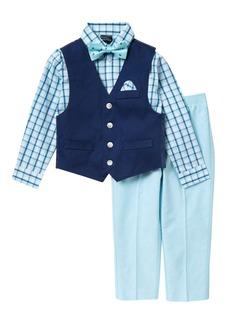 Nautica Twill Oxford Vest Set (Toddler & Little Boys)