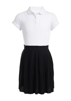 Nautica Uniform Pleated Skirt Dress (Big Girls)