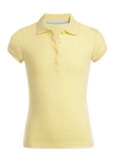 Nautica Uniform Short Sleeve Pico Polo Shirt (Little Girls & Big Girls)
