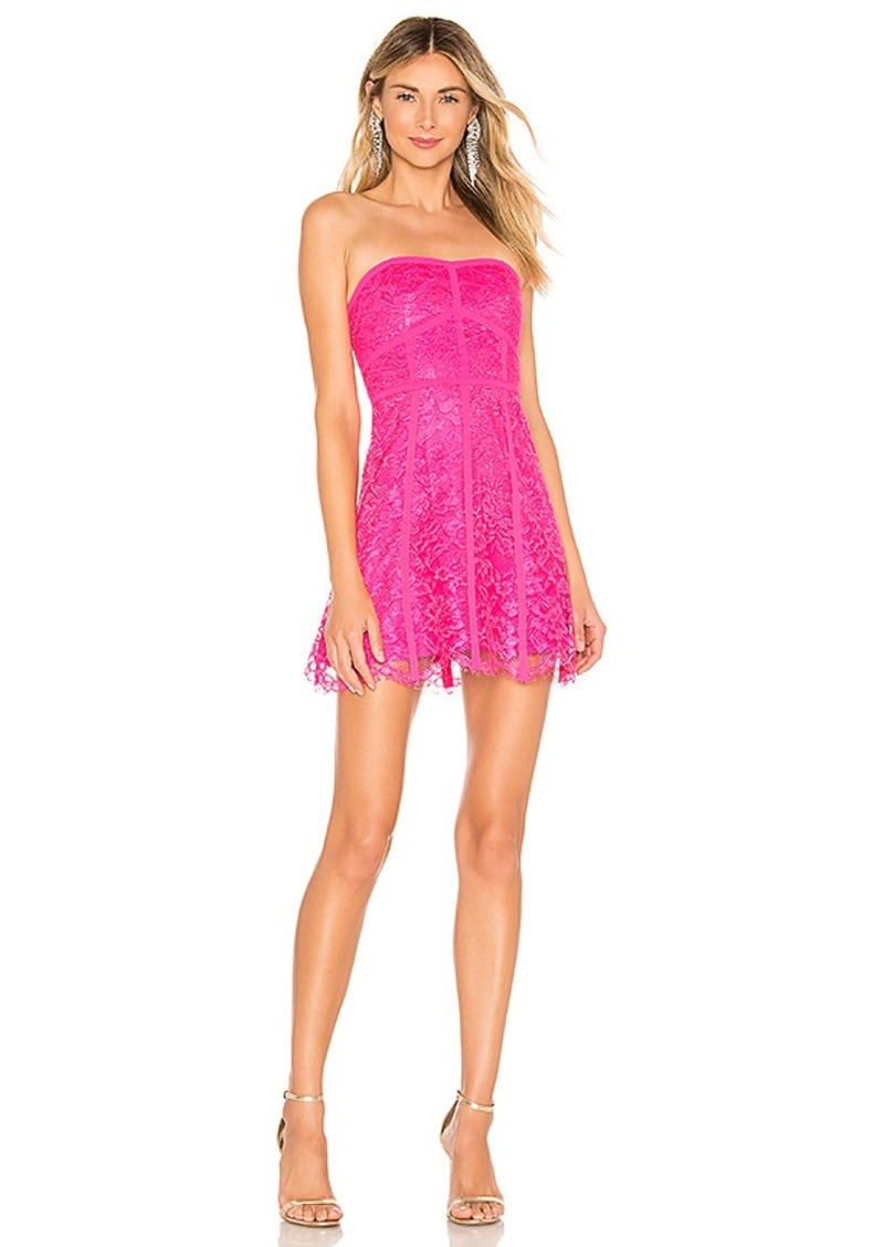 NBD x Naven Azalea Strapless Dress