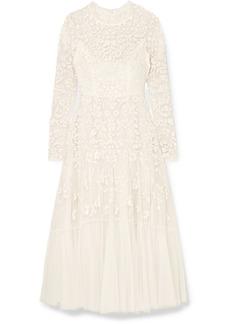 Needle & Thread Bella Embellished Tulle Midi Dress