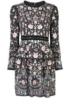 Needle & Thread embroidered floral dress
