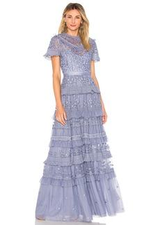 Needle & Thread Iris Gown