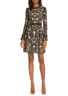 Needle & Thread Marella Embroidered Minidress