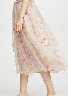 Needle & Thread Ruby Bloom Smocked Ballerina Skirt