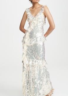 Needle & Thread Scarlett Sequin Gown