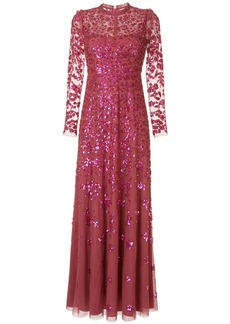Needle & Thread Rosmund sequin-embellished tulle gown