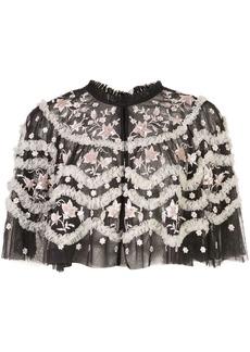 Needle & Thread Tulle Bloom jacket