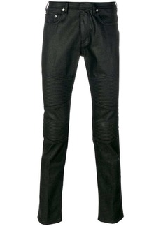 Neil Barrett biker panel jeans