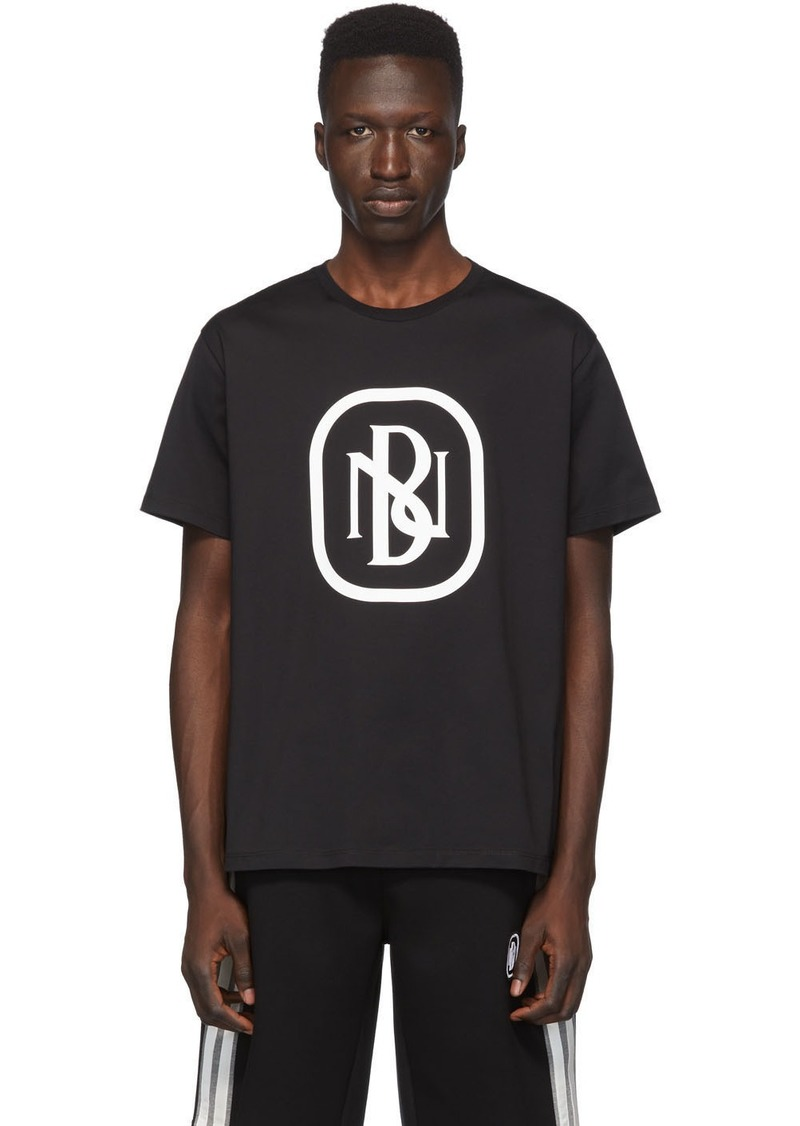 Neil Barrett Black New Logo T-Shirt