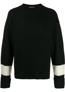 Neil Barrett block stripe knit jumper