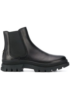 Neil Barrett calf leather slip-on boots