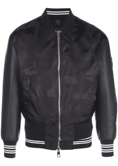 Neil Barrett camouflage print bomber jacket