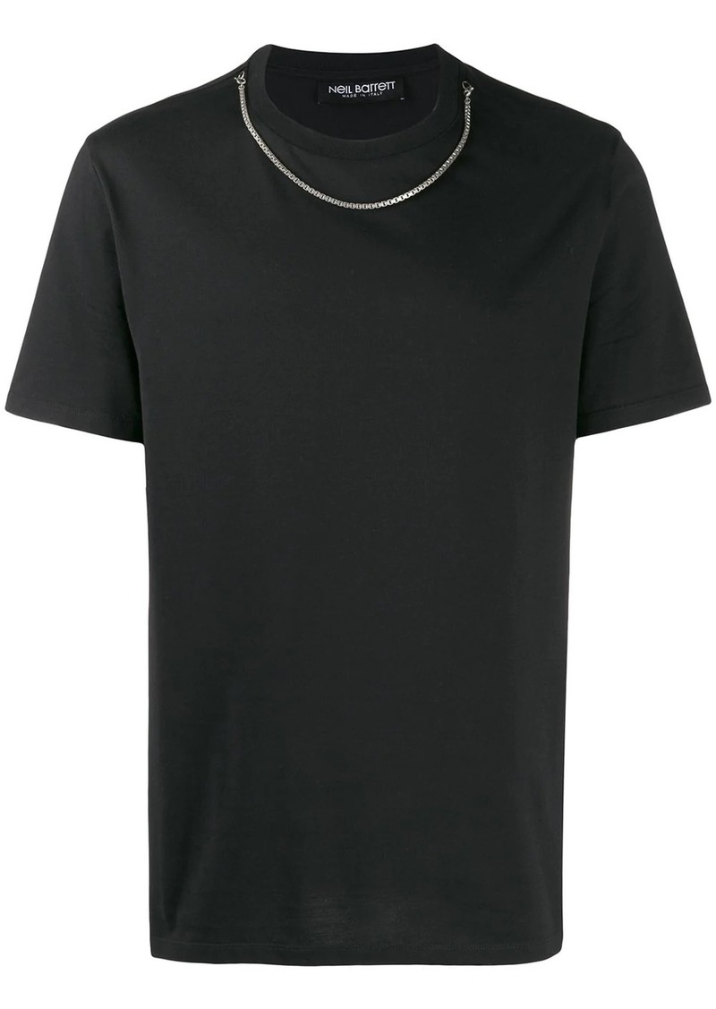 Neil Barrett chain neck jumper
