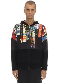 Neil Barrett City Printed Neoprene Sweatshirt Hoodie