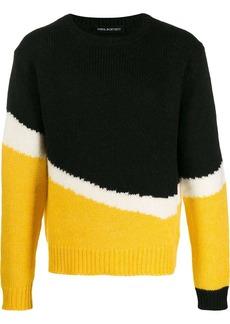 Neil Barrett colour-block jumper