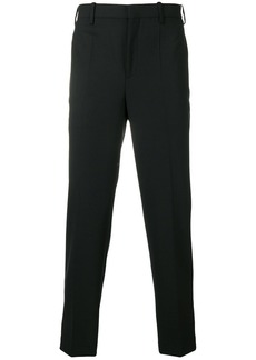 Neil Barrett contrast cuff stripe trousers