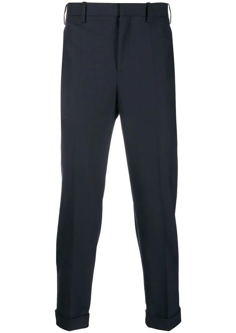 Neil Barrett contrast stripe tailored trousers