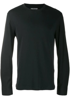 Neil Barrett contrasting sleeve sweatshirt
