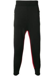 Neil Barrett drop-crotch knit trousers