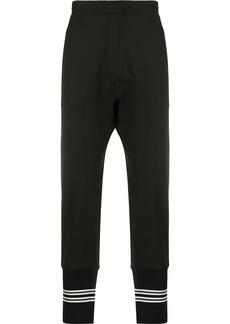 Neil Barrett drop-crotch track pants