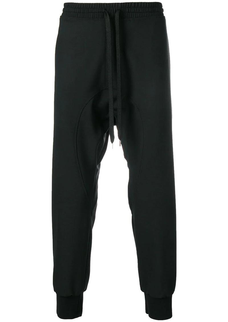 Neil Barrett drop crotch track pants