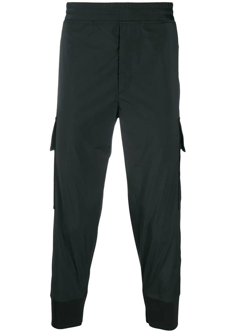 Neil Barrett elastic waist trousers