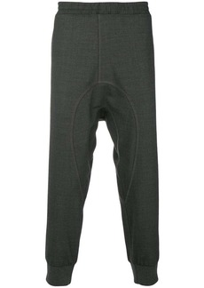 Neil Barrett elasticated waist track pants