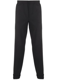 Neil Barrett elasticated waistband tailored trousers