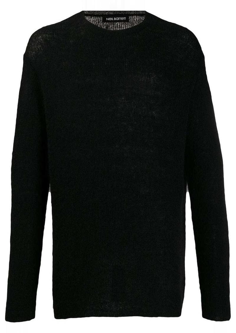 Neil Barrett fine knit jumper