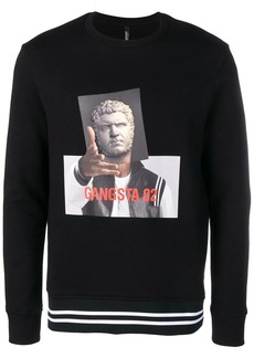 Neil Barrett 'Gangsta' sweatshirt