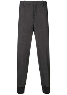 Neil Barrett gathered ankle tailored trousers
