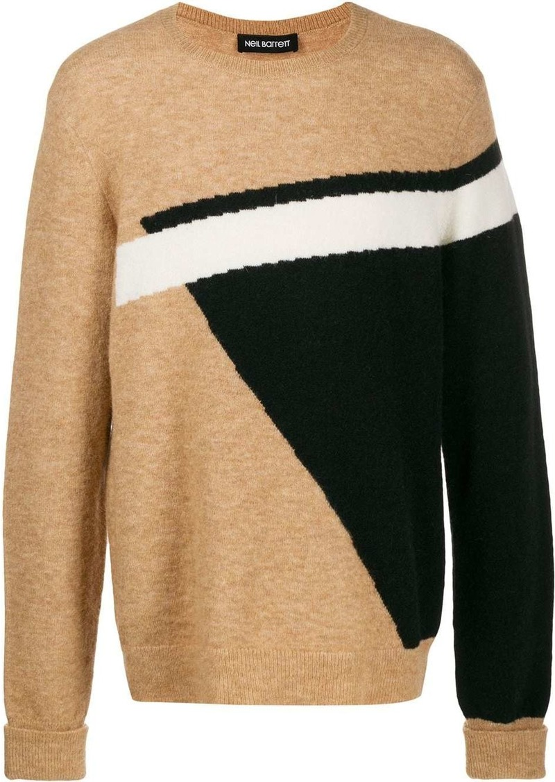 Neil Barrett geometric-print jumper