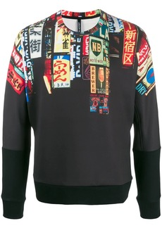 Neil Barrett graphic print sweatshirt