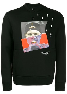Neil Barrett graphic sweatshirt