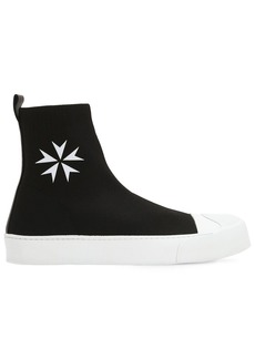 Neil Barrett High Top Tech Socks Sneakers