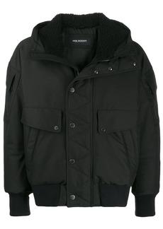 Neil Barrett hooded bomber jacket