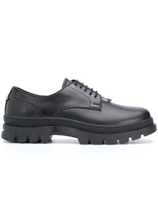 Neil Barrett leather Derby shoes