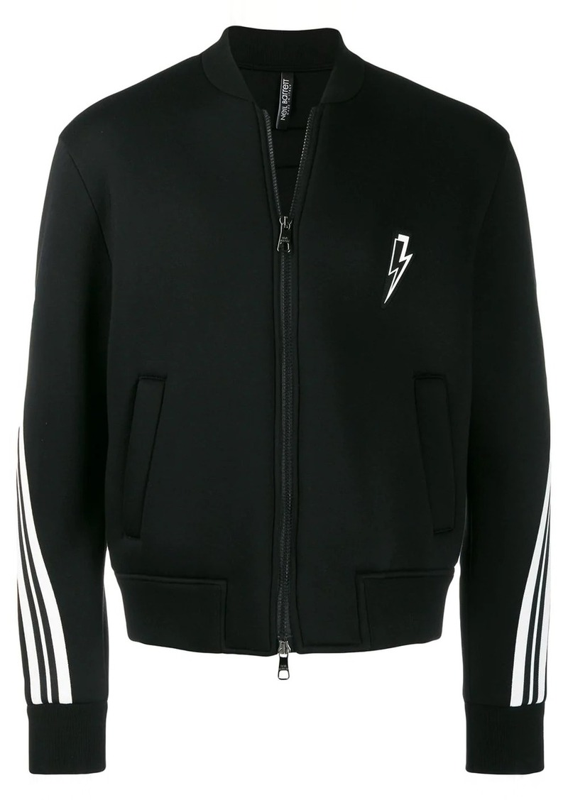 Neil Barrett lightening bolt bomber jacket