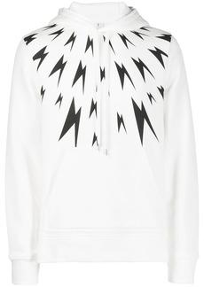 Neil Barrett Lightning Bolt hoodie