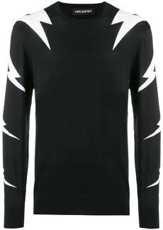 Neil Barrett Thunderbolt sweater