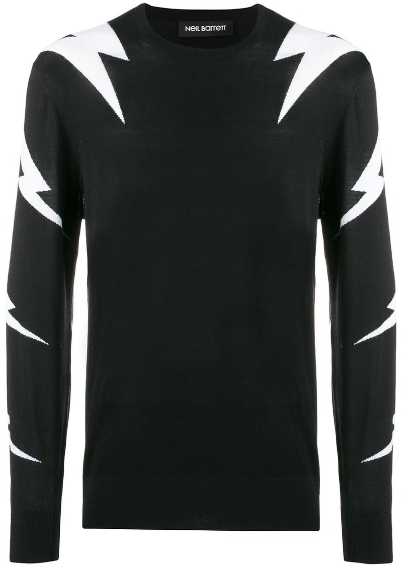 Neil Barrett Thunderbolt sweater