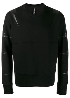 Neil Barrett lightning print sweatshirt