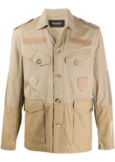 Neil Barrett lightweight pocket detailed jacket