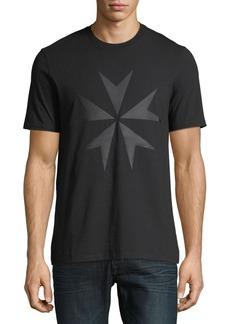 Neil Barrett Men's Military Star Graphic T-Shirt
