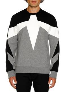 Neil Barrett Men's Modernist N21 Sweater