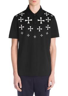 Neil Barrett Military Star Polo Shirt